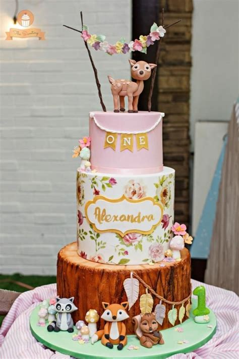 More Whimsical Cakes To Impress by Whimsical Woodland Cake By The Sweetery By Diana Cakes