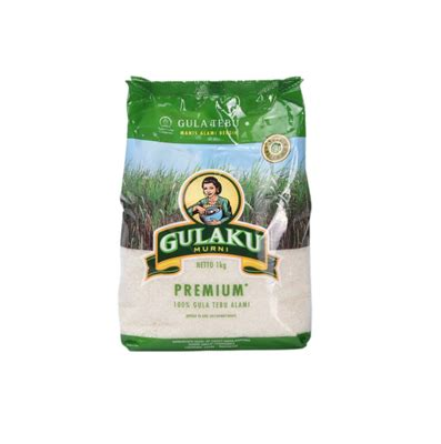 Gulaku Premium Kemasan 1kg food axiqoe