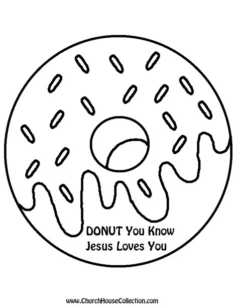 jesus loves me preschool coloring page church house collection blog donut you know jesus loves