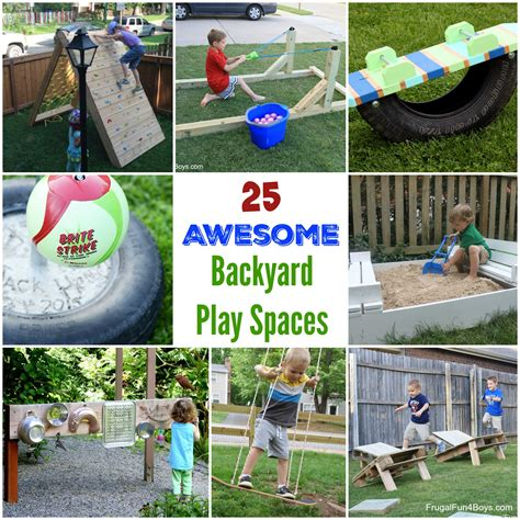 25 awesome backyard play spaces build climbing