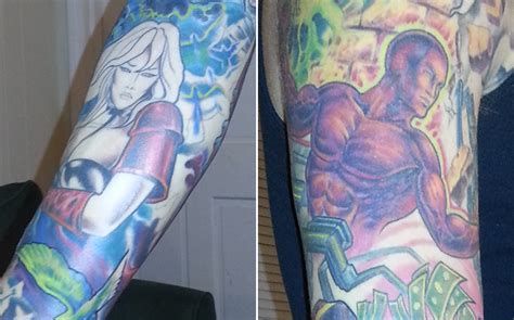heavy metal tattoos taarna and den go skin on fan s heavy metal