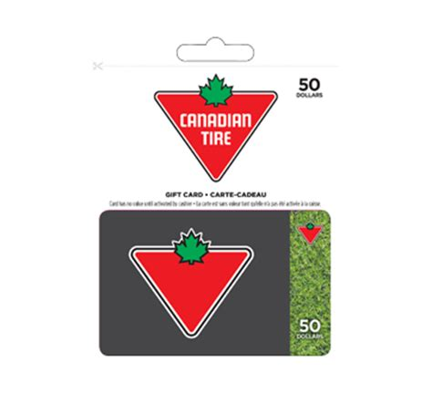 Canadian Gift Card - 50 canadian tire gift card incomm other gift cards jean coutu