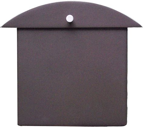 modern wall mounted mailbox house mailboxes contemporary bronze monet wall