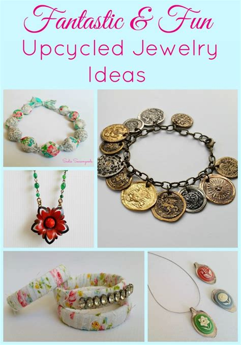 jewelry projects ideas repurposed innovative jewelry ideas recycled things