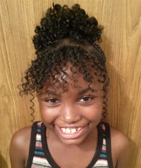 how to do lacth braids bangs youth protective style curly box braid style using