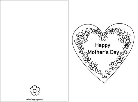 Mothersday Card Template by 75 Best S Day Images On S Day