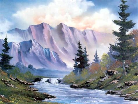 bob ross painting a happy tree 25 best ideas about landscape paintings on