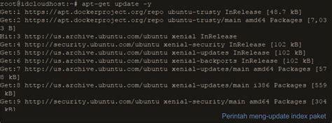 menginstall docker  ubuntu server idcloudhost