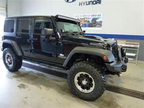 Custom 2012 Jeep Wrangler Buy Used 2012 Jeep Wrangler Unlimited Black Custom