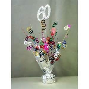 60 birthday centerpieces 60th birthday decorations favors ideas