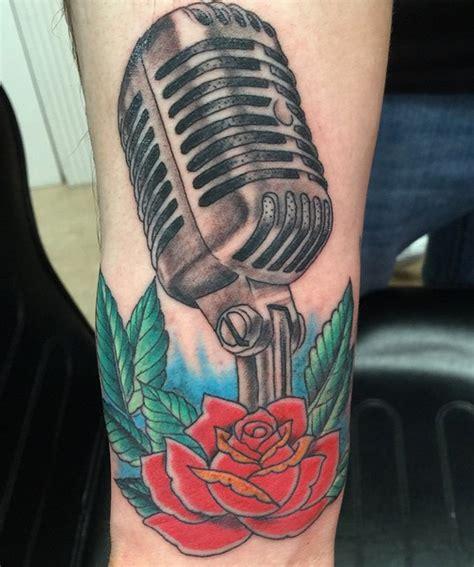 microphone key tattoo frank romano tattoo artist pirate ship tattoo angel