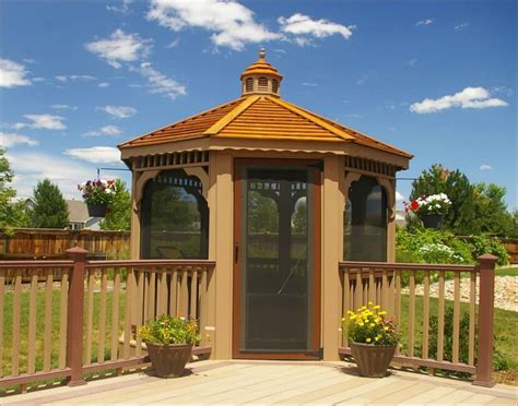 gazebo design 106 gazebo designs ideas wood vinyl octagon