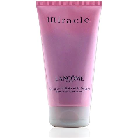 lanc 244 me miracle shower gel 150ml damenparf 252 m parf 252 m f 252 r dich