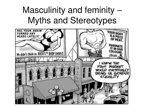 gender stereotypes masculinity and femininity genderification thoughts and notes on gender theory