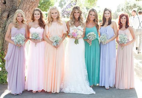The Secrets of Successful Mismatched Bridesmaids 3.0   Belle The Magazine