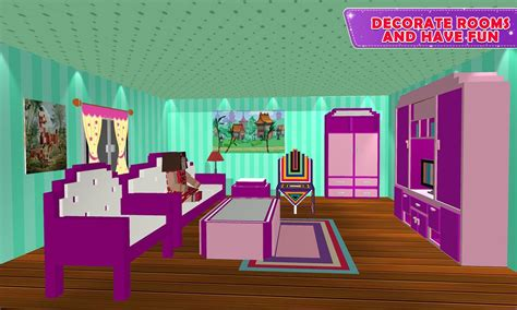 doll house design decoration  girls house game