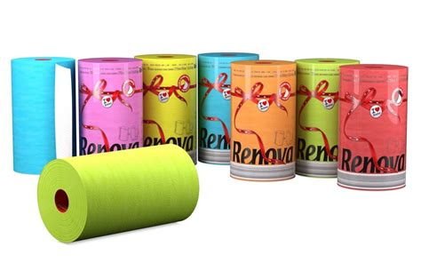 colored paper towels renova color kitchen paper towel roll xl size 2 ply