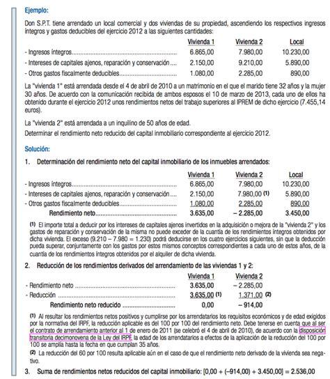 gastos deducible irpf casero alquiler vivienda 2015 gu 237 a de la declaraci 243 n de la renta 2012 caseros