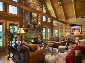 Today S Log Homes For Advantageous And Luxurious Living Log Homes Interior Designs