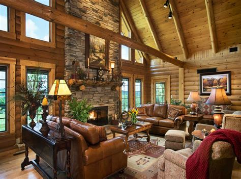 log home interior design ideas today s log homes for advantageous and luxurious living