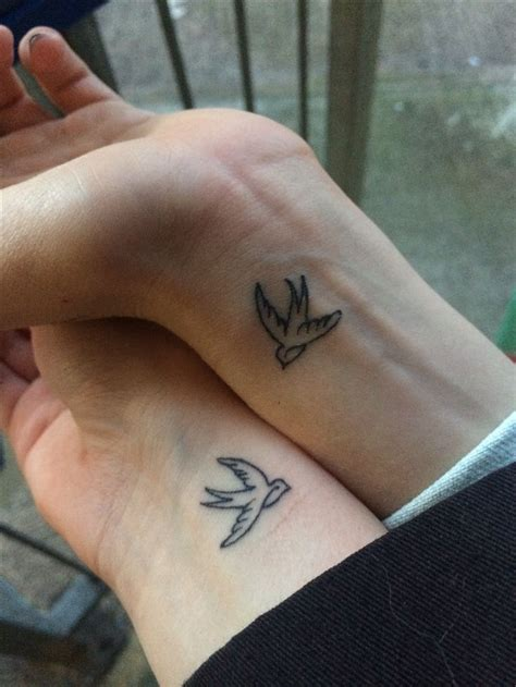 pinterest tattoo matching swallow tattoo matching best friend tattoo from travels