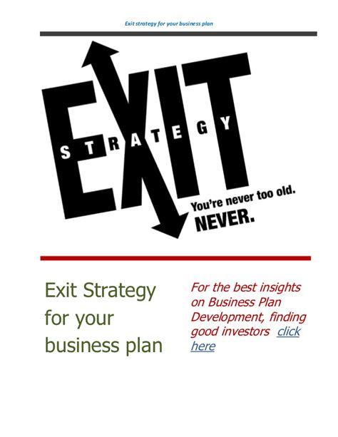 exit plan for business plan dissertation exit plan for business plan dissertation