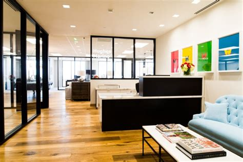les bureaux modernes de hugues marino et design au