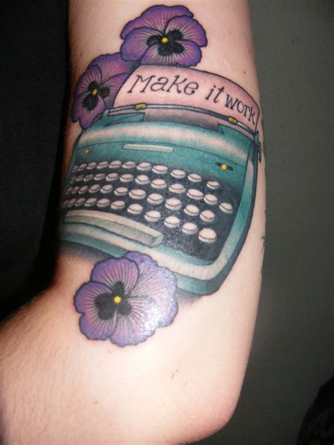 tattoo fonts with color 25 best ideas about typewriter on