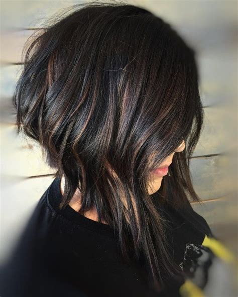 best 25 black hair with highlights ideas on
