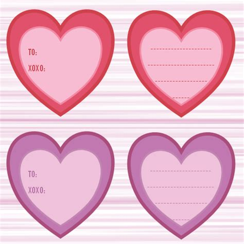 printable heart gift tags 7 best images of heart shaped printable labels free