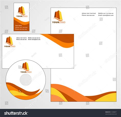 eps format letterhead designs letterhead template design vector file stock vector
