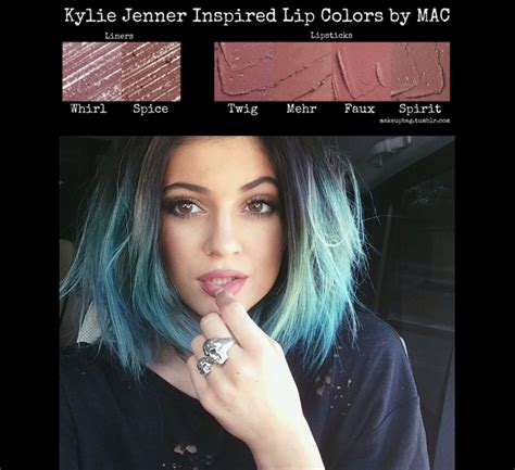 jenner inspired lip colors by mac makeup tips