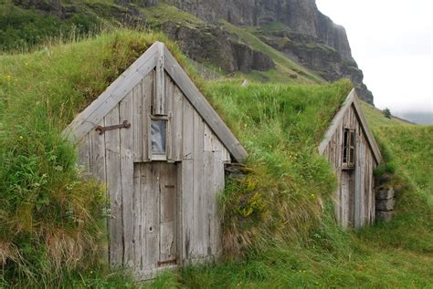 picture of houses contemplating change iceland turf houses