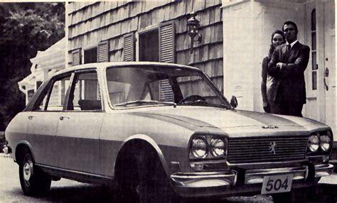 peugeot cars canada cars canada 1969 peugeot 504