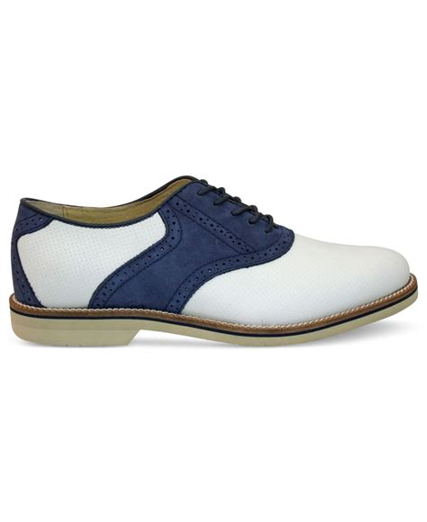 burlington shoes for g h bass co burlington perforated plain toe saddle