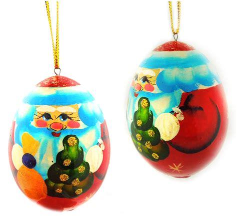 santa ded moroz christmas decoration wooden ornament