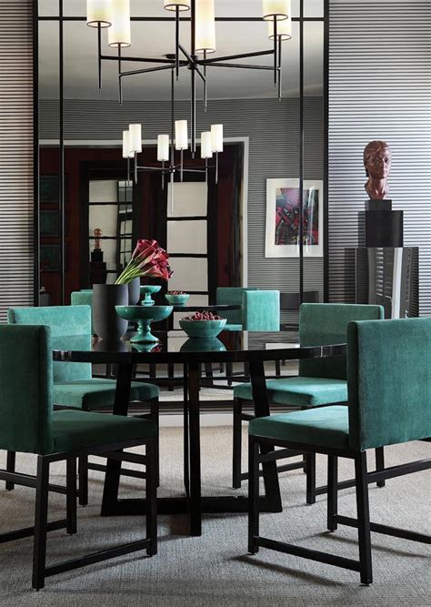 dining room designs elegant modern style round table 10 astonishing modern dining room sets