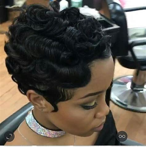 pin curl bangs for short hair trying to grow my out but i love this style short hair