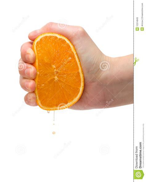 Orange Squeeze squeezing orange stock image image of nature breakfast