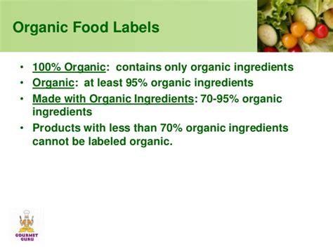 7 Things To About Organic by Gourmet Guru Vs Organic Foods