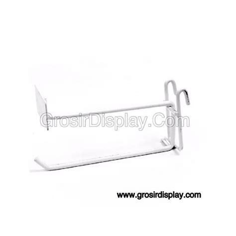 Ram Gantungan gantungan hook ram plat harga 20 cm putih grosir display
