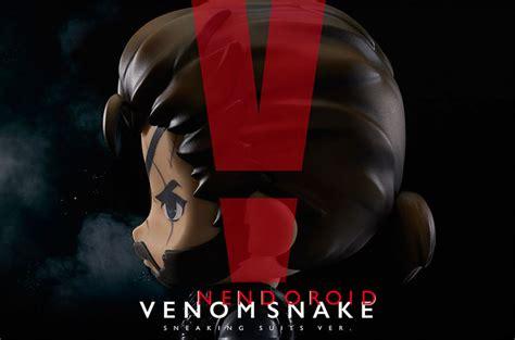 Mainan Figure Nendoroid Series Nendo Venon Snake Sneaking nendoroid venom snake sneaking suit version gets new