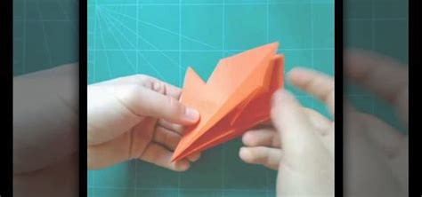 Origami For Intermediates - how to make an origami pterodactyl for intermediate