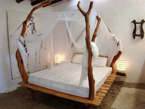 bedroom tree branch bed frame design ideas birch