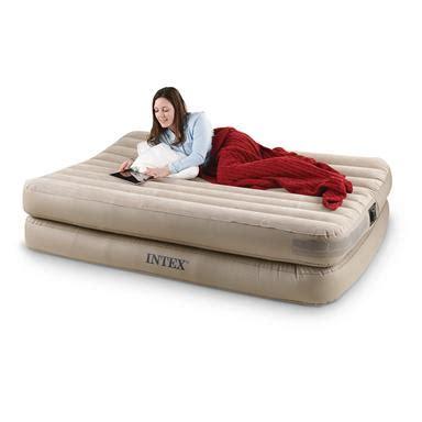 intex comfort air bed 299899 air beds at sportsman s guide