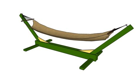How To Make A Hammock How To Build A Hammock Stand Howtospecialist How To