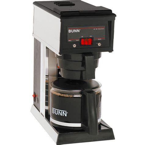 commercial coffee makers bunn a 10 10 cup commercial coffee maker pourover brewer machine 72504004006 ebay