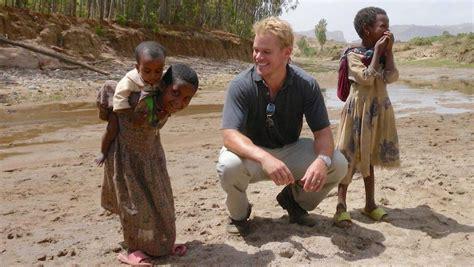 matt damon charity water matt damon is a bigger than jason bourne screen