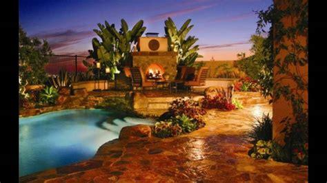 decoracion de piscinas y jardines decoraci 243 n de jardines con piscina y chimenea youtube