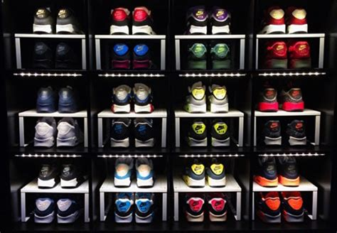 how to make an awesome sneaker storage display with stuff